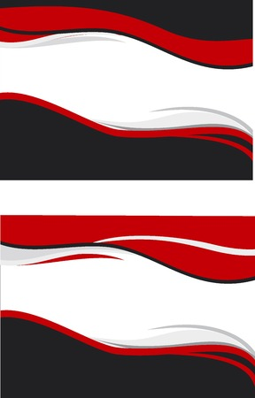 background in it is black &amp, red scale  Vector