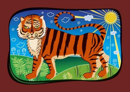 royal safari: tiger