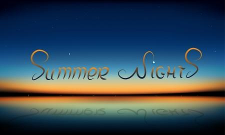 夏天的夜晚