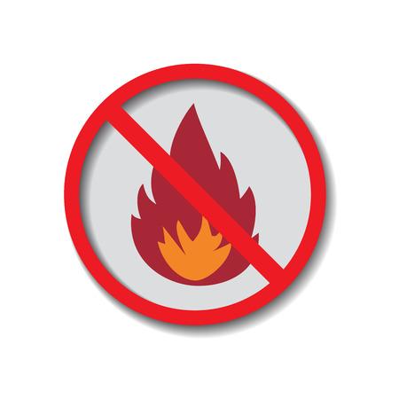 heating engineers: Flame Illustration