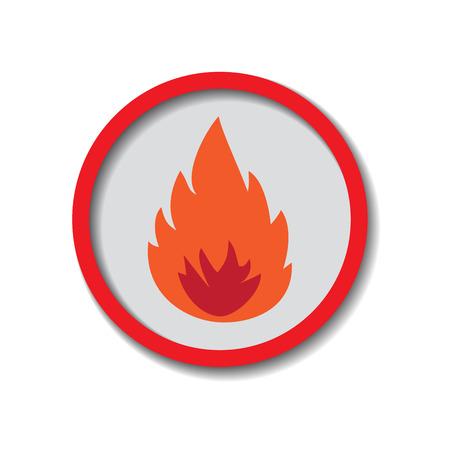heating engineers: Fire Illustration