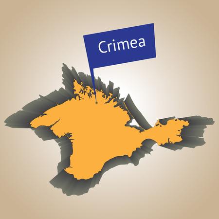 annexation: Crimea peninsula  Illustration