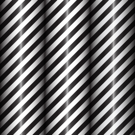 tissue paper art: Abstract geometric lines with black and white diagonal stripes. Black gradient. Vector illustration