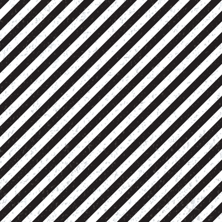tissue paper art: Abstract geometric lines with diagonal black and white stripes. Vector illustration Illustration