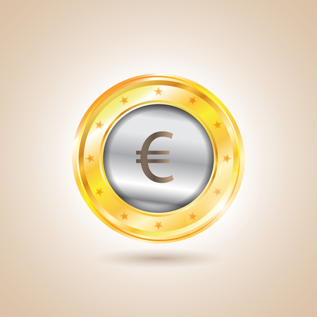 nasdaq: Money - euro coins.