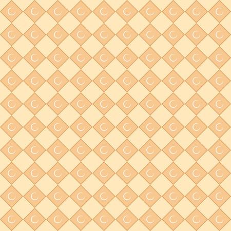 islamic pattern: Seamless pattern. Islamic style. Illustration Stock Photo