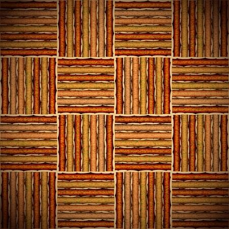 Tatami wood. illustration