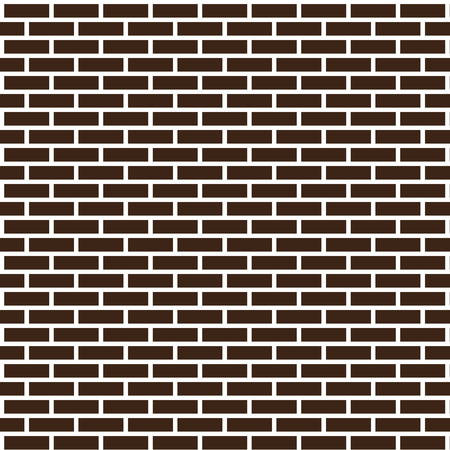 Seamless background from a dark brick. Illustration Stock Photo