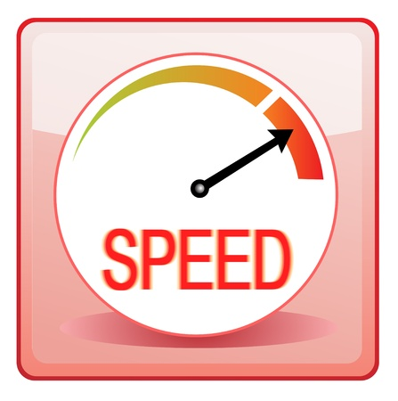 Speed Speedometer Stock Vector - 13521130
