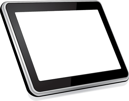 Tablet computer  Illustration