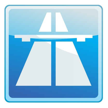 highway sign: Highway sign icon