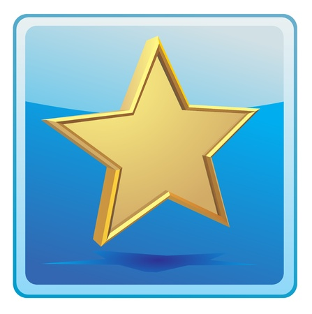 jewell: Gold star icon