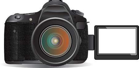 digital SLR camera Stock Vector - 13521795