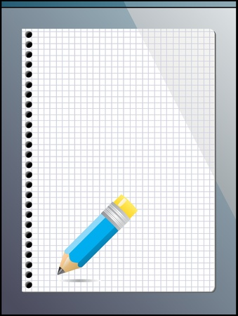 notepad  Stock Vector - 13521631