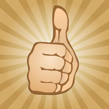 Thumb Up Stock Vector - 13521719