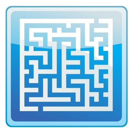 labirinth icon Vector
