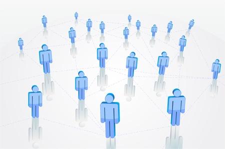 la conception de réseau social