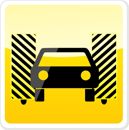 car wash icon Stock Vector - 13521633