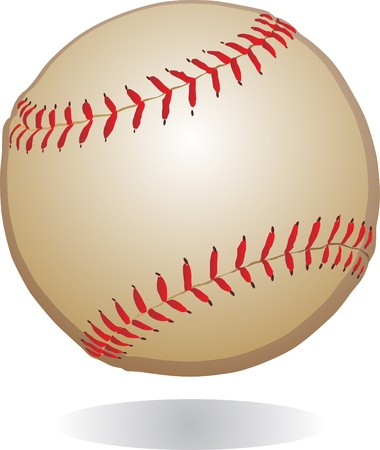 baseball ball vintage Vector