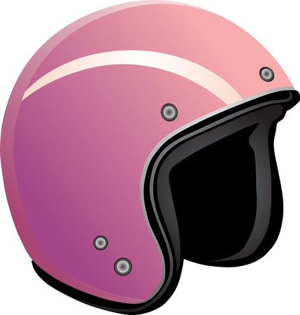 Protective helmet for a snowboard on a white background  Vector