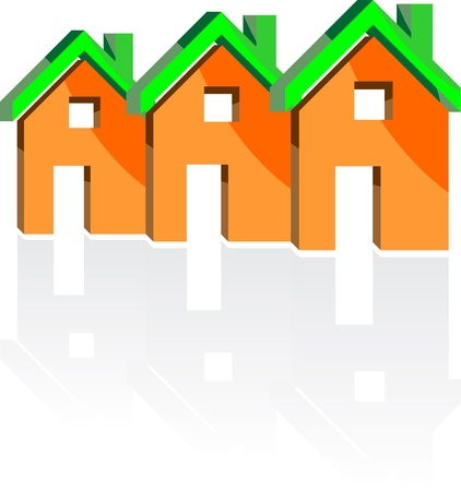 homes Stock Vector - 13521532