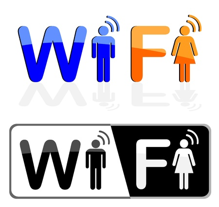wifi conception Vector