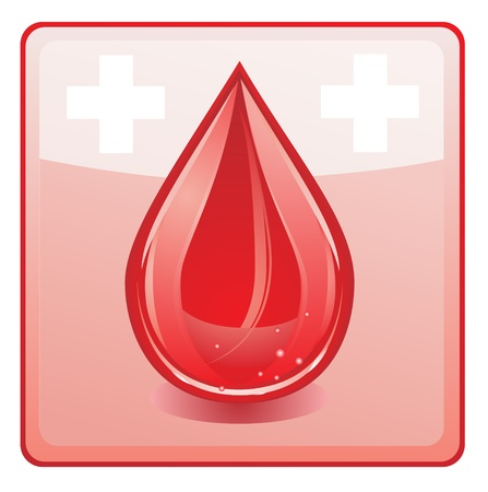 blood icon Vector
