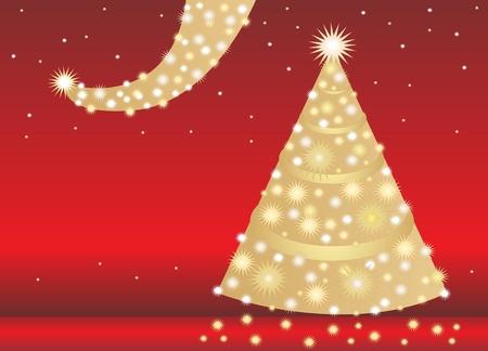 cel: christmas tree