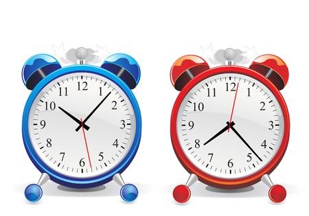 12 o'clock: alarm clock