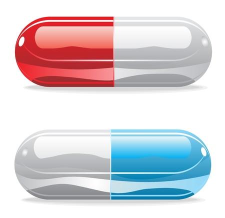 pastillas: Tabletas de Medicina Vectores