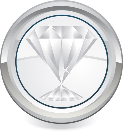 diamond icon Stock Vector - 13626500