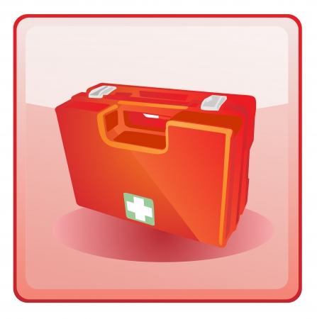 first aid kit icon Stock Vector - 13707009
