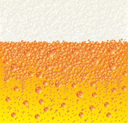 Contexte de la bière et de la mousse