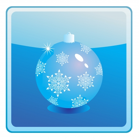 natale: Christmas bauble icon