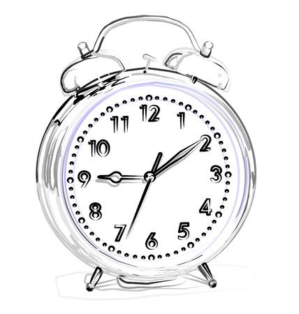 hand beats: alarm clock