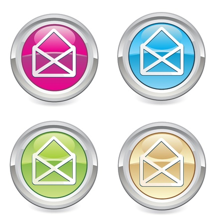 vector email icon web design element   Vector