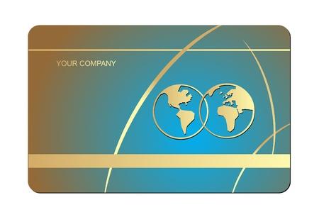 Vector business card set  Stock Vector - 13706925