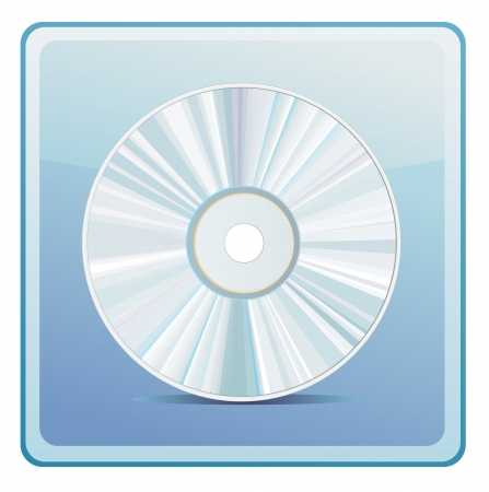 quavers: cd icon Illustration