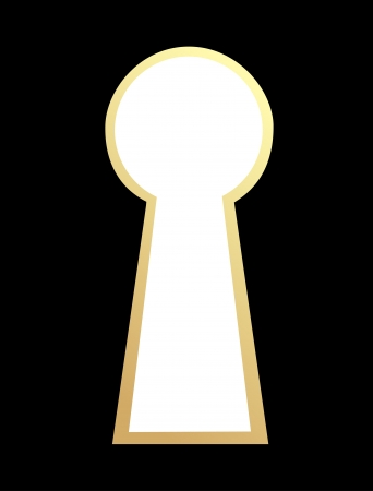 Keyhole  Vector  Stock Vector - 13706948