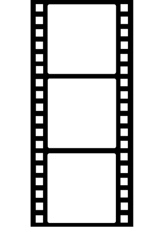 film frame: Film Strips Illustration