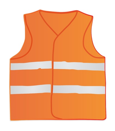 industrial objects equipment: safety vest