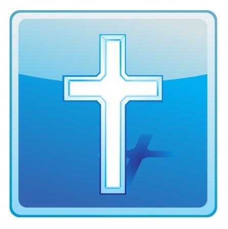 cross icon Stock Vector - 13707021