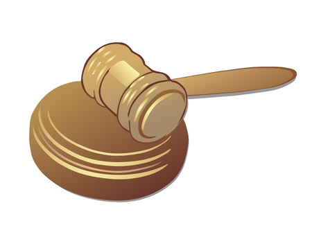 judicial system: mazo Vectores