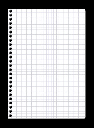 graph paper: note pad