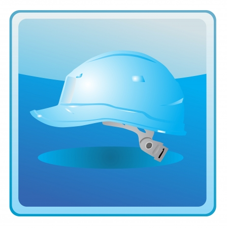 safety hard hat icon Stock Vector - 13749660