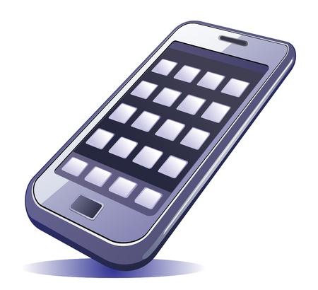 téléphone mobile Illustration