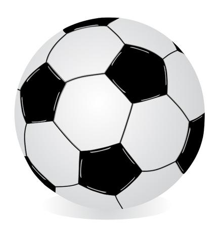 european championship: Vector isolated soccer ball   Illustration