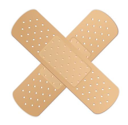 Adhesive bandage  Vector  向量圖像