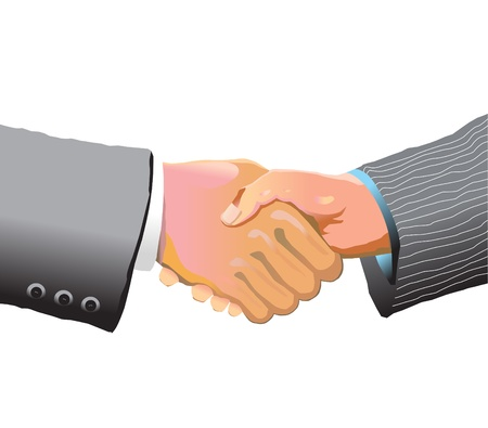 handshake Stock Vector - 13754006