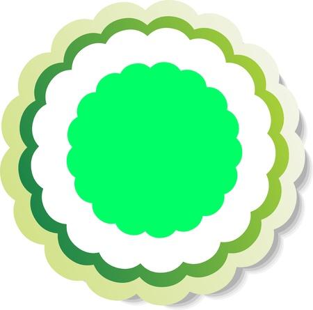Vector stickers  Stock Vector - 13758177